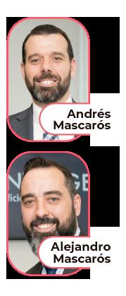 Andres y Alejandro Mascaros