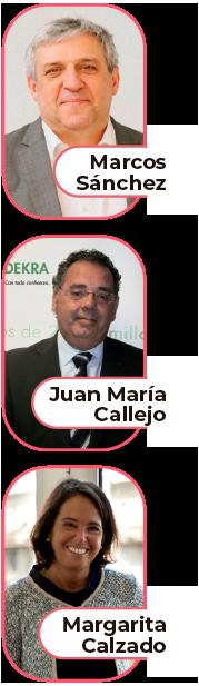 Marcos sanchez - Juan Maria Callejo - Margarita Calzado
