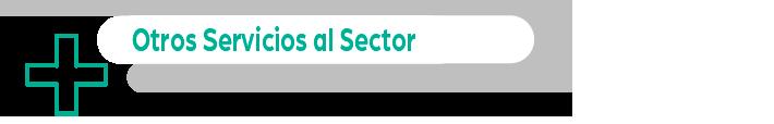 otros servicios al sector - apartado